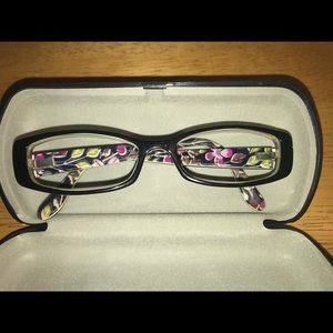 Vera Bradley eye frames. EUC. For presc or sunglas